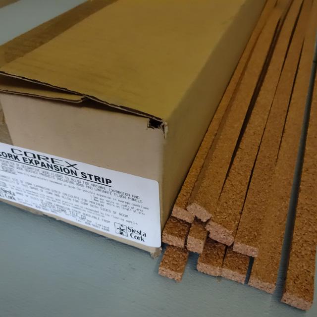 Cork Expansion Strips Siesta Cork Tiles